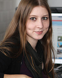 Franziska Böhl arbeitet seit Juni 2012 an der HdM.