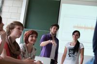 Nachhilfe in der Rhetorik können die Studenten in den Workshops des HdM-Didaktikzentrums erhalten.