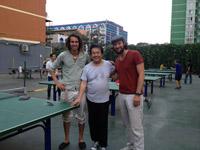 Ping Pong ist nach wie vor Volkssport in China. Hier machen wir keinen Punkt.