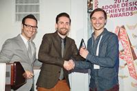 Der Preisträger: Alexander Heringer (rechts, Foto: www.adaagallery.com/2013, Adobe Systems)