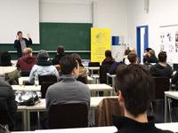 HdM-Studierende aller Fakultäten waren neugierig auf den ersten i.e.SMART-Ideenworkshop.