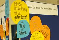 """Auch die Verfasste Studierendenschaft hat sich Gedanken um """"gute Lehre"""" gemacht."""