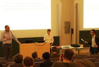 Prof. Dr. Nils Högsdal sprach über Planspiele.