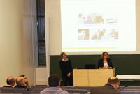 """Prof. Dr. Bettina Schwarzer stellte das Projekt """"ANAK"""" vor, Fotos: Victoria Kunzmann."""