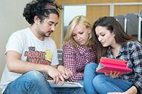 Teamarbeit steht in allen Studiengängen auf dem Lehrplan