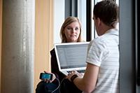 """Beim """"Webday"""" erfahren Gäste mehr über das Know-how der Studenten und Absolventen"""
