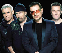 "Wurden mit Hits wie ""With or without you"" weltbekannt: die Band U2, Foto: Universal Music"