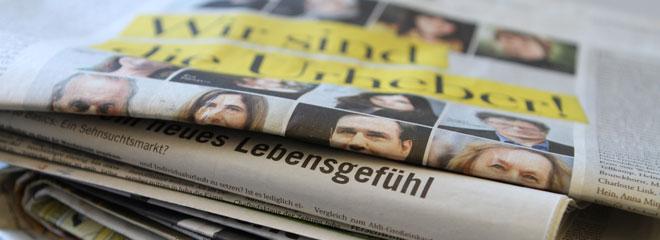 65 Jahre Grundgesetz und Pressefreiheit in Deutschland, Foto: Stephanie Frank