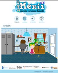 Die Webseite zum Spiel