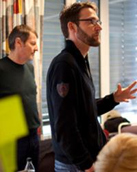 Michael Müller (l.) und Lars Rinsdorf (Foto: Gokhan Tan)