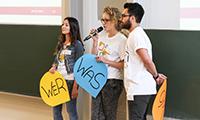 Die Verfasste Studierendenschaft sorgte für ein buntes Rahmenprogramm.