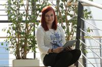 Kathrin Radtke studiert im 4. Semester Mobile Medien.