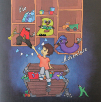 Auf 48 Seiten können Kinder das ABC entdecken.