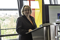 Ministerin Theresia Bauer war zu Gast