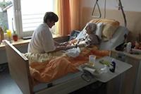 Für die Gäste im Hospiz gibt es auch Aromapflege am Bett
