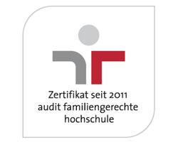 """Logo des """"audit familiengerechte hochschule"""""""