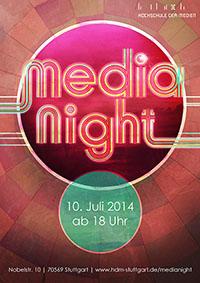 Am 10. Juli lädt die Hochschule der Medien zur MediaNight ein.