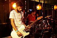 Die HdM-Band setzt musikalische Akzente auf der MediaNight.