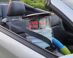 Die Anschnallpflicht gilt auch für Roboter, Quelle: hitchbot.me
