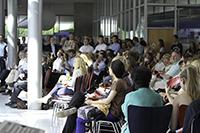 Zahlreiche Gäste haben mit den Absolventen gefeiert