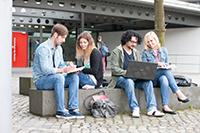 Über 20 Studiengänge rund um die Medien stehen zur Auswahl