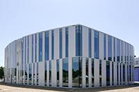 Im neuen HdM-Gebäude befindet sich die Bibliothek