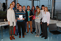 Die Macher mit Prof. Dr. Marie Elisabeth Müller (links), Fotos: Projekt-Team