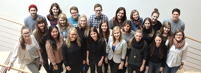Das Team des Wintersemesters 2014/2015