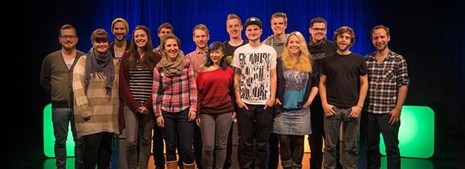 Das Team der Show