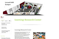 Die Webseite des Learning Research Centers
