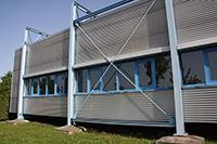 """Der """"Pavillon"""" muss weichen (Bilder: HdM, Simon Freie Architekten)"""