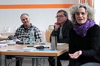 Im Autorenworkshop wird die Rahmenhandlung entwickelt