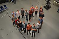 Die Macher der Sendung (Foto: Projektteam)