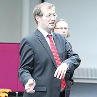 HdM-Rektor Prof. Dr. Alexander W. Roos
