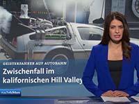 Nachrichtensprecherin Linda Zervakis in einer speziellen Ausgabe der Tagesschau, Screenshot via Facebook