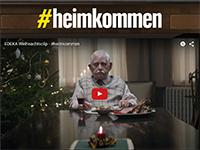 Über 20 Millionen Mal wurde der Werbespot von EDEKA in den ersten fünfTagen auf YouTube angeklickt. Screenshot: Edeka.de