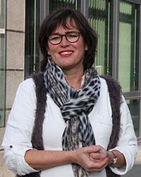 Philologin Jutta Gentsch ist akademische Berufsberaterin bei der Agentur für Arbeit Stuttgart. Foto: Joelle Mittnacht