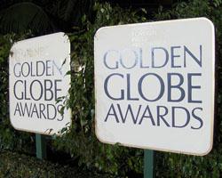 """""""Golden Globe Awards signs"""". Foto: siehe Seitenende"""