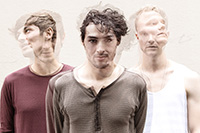 Die Band Eau Rouge: Bo Zillmann, Jonas Teryuco, Magnus Frey (von links, Foto: Eau Rouge)