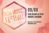 Premiere: Music Festival der Hochschule