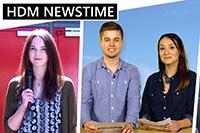 Moderatoren und Reporter der dritten Ausgabe (Foto: stufe)