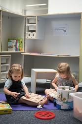 Die neue Kidsbox lädt zum Spielen ein. Foto: Helena Ebel