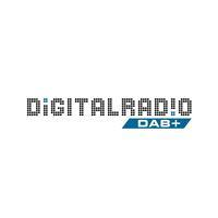 Das Logo der Initiative Digitalradio Deutschland, ein Gemeinschaftsprojekt von ARD, Deutschlandradio, DRD Digitalradio Deutschland GmbH und Media Broadcast.