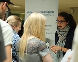 Am 28. Oktober 2016 haben Studieninteressierte die Möglichkeit sich über das Studienangebot der HdM zu informieren.