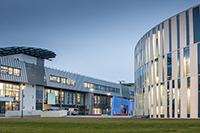 Eine von zwölf erfolgreichen Hochschulen: die HdM