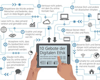 """Die """"10 Gebote der Digitalen Ethik"""" sollen zu einem rücksichtvollen Umgang in der digitalen Gesellschaft beitragen."""