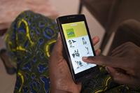 Mit der App können Zeiten für Tätigkeiten per Klick erfasst werden (Fotos: Hannes Buchwald)