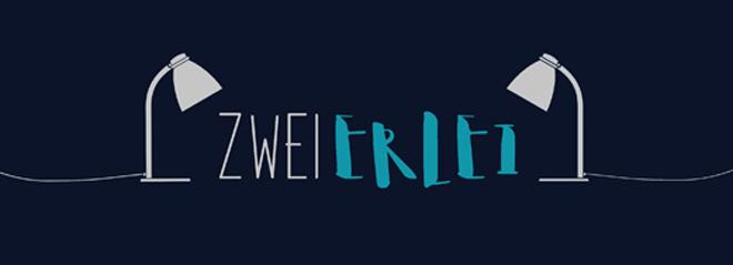 """Das Logo des Online-Magazins """"Zweierlei"""""""
