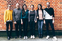 """Das Team von """"Deine Strasse"""". Foto: Ilkay Karakurt"""