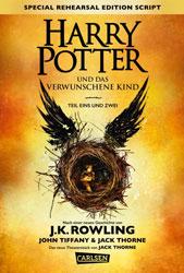 Harry Potter und das verwunschene Kind, Foto: Carlsen Verlag